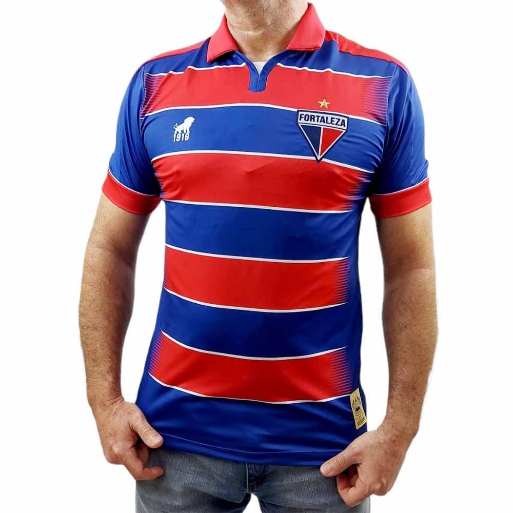 Camisa De Futebol Do Fortaleza Tradição Oficial Leão 1918