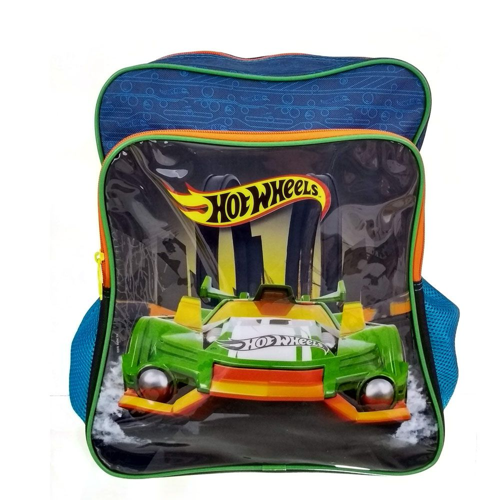 MOCHILA SESTINI HOT WHEELS PLUS
