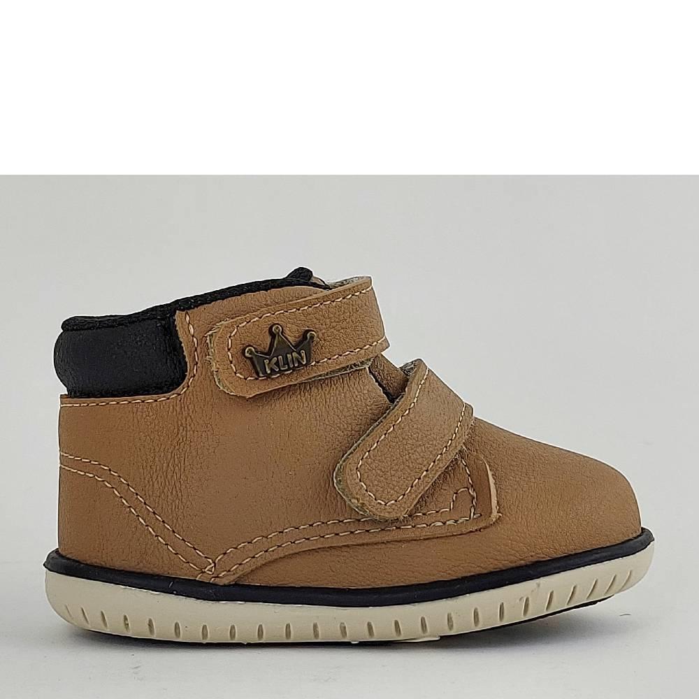 Sapato Infantil Klin Mini Flyer 166 Taupe