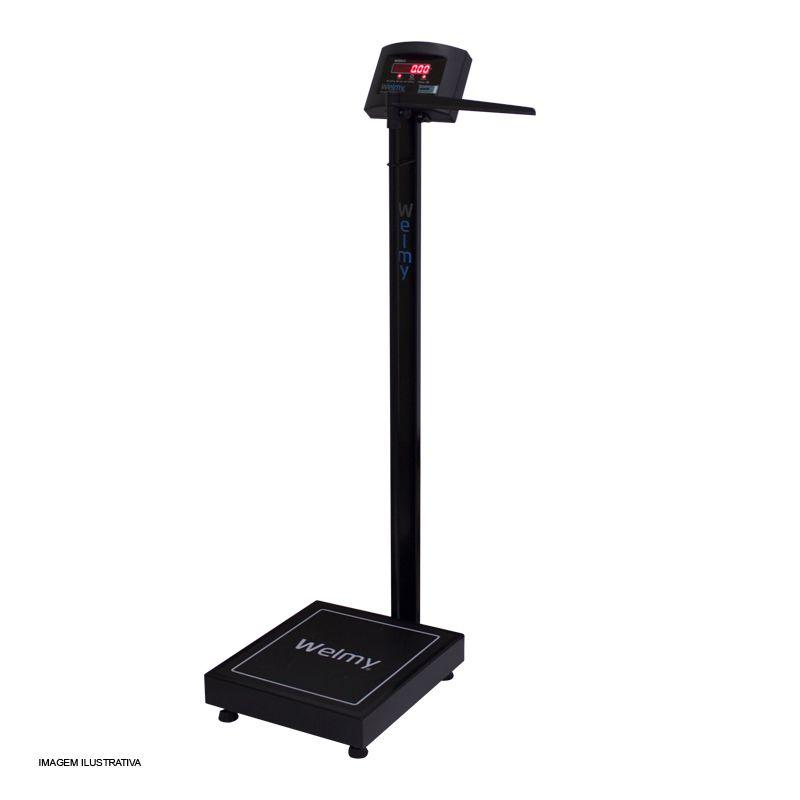 Balança Antropométrica Adulto Black - W200 A - Divisão 50 g