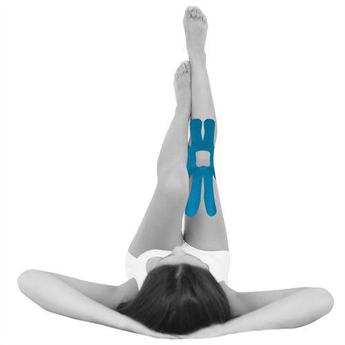 Bandagem elástica adesiva pre-cut aplicação joelho - Ortho Pauher