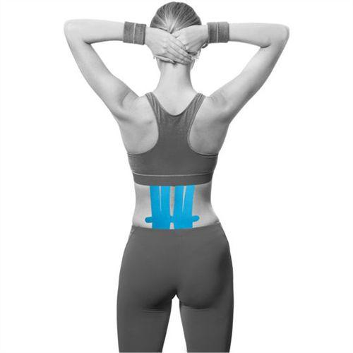 Bandagem Elástica Adesiva Pre-Cut Aplicação Lombar - Ortho Pauher