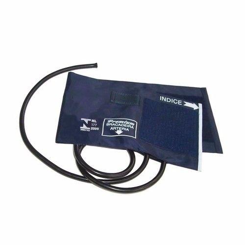Braçadeira Adulto com manguito 2 vias  Nylon Velcro 18 A 35cm - Premium