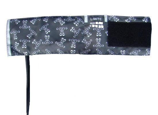 Braçadeira recém nascido com manguito 1 via ou 2 vias -  Nylon Velcro 10 A 13 cm - Mikatos