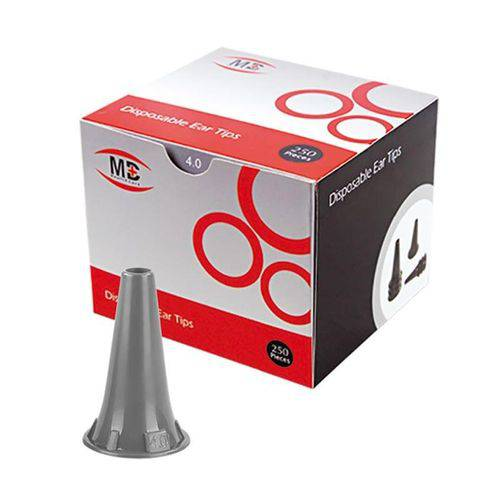 Espéculo Para Otoscópio Omni 3000 4,0 mm Cx C/ 250 Espéculos MD