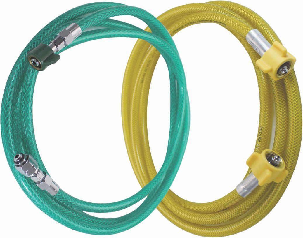 Extensão de nylon trançado 5,0M p/ oxigênio ou ar comprimido