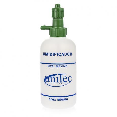 Frasco Umidificador 250ml para Oxigênio - Unitec
