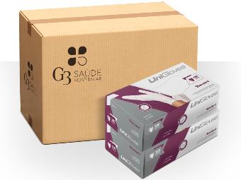 Kit com 10 caixas com 100 unidades cada - Luvas UniGloves