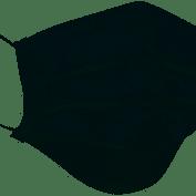Máscara Descartável Tripla com Elástico pct 50 Unidades - Neve
