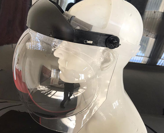 Protetor Facial Esférico ( Face Shield ) - Ledan