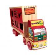 Caminhão de Madeira Zoo Trans