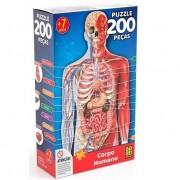 Corpo Humano 200 Peças