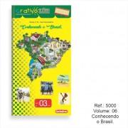 Criativo Lük Livro Volume 6 - Conhecendo o Brasil