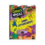 Dino Ninjas Roxo Atividades