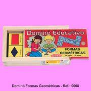 Dominó Educativo Formas Geométricas