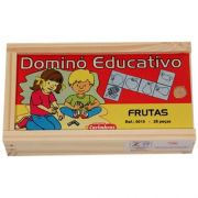 Dominó Educativo Frutas
