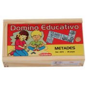 Dominó Educativo Metades