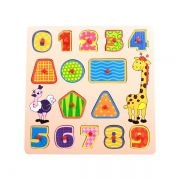 Encaixe e Brinque Números