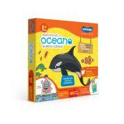 Explorando o Oceano Quebra-Cabeça Grandão 120 Peças