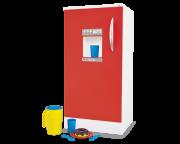 Geladeira Super Clean - Vermelha