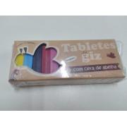 Giz Tabletes de Cera com 12 cores