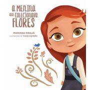 Livro A Menina que Colecionava Flores
