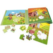 Livro brinquedo – Um dia na Fazenda