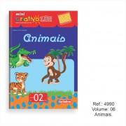 Livro Mini Criativo Lük Volume 6 - Animais