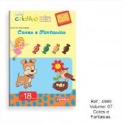 Livro Mini Criativo Lük Volume 7 - Cores e Fantasias