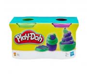 Play-doh 2 Potes: Roxo e Verde