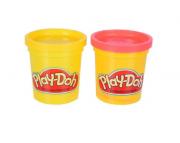 Play-doh 2 Potes: Vermelho e Amarelo