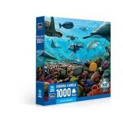 Criaturas Marinhas Quebra-Cabeça 1000 Peças