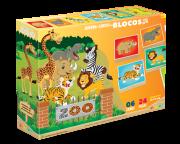 Quebra Cabeça em Blocos - Zoo