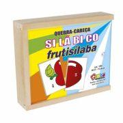 Quebra-Cabeça Silábico Frutisilaba