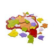 Quebra-Cabeças Mapa do Brasil