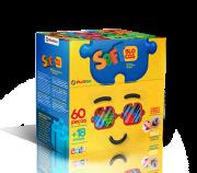 Soft Blocos 60 Peças