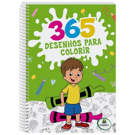 365 Desenhos Para Colorir (Todolivro)