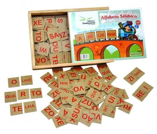 Alfabeto Silábico Editora Fundamental