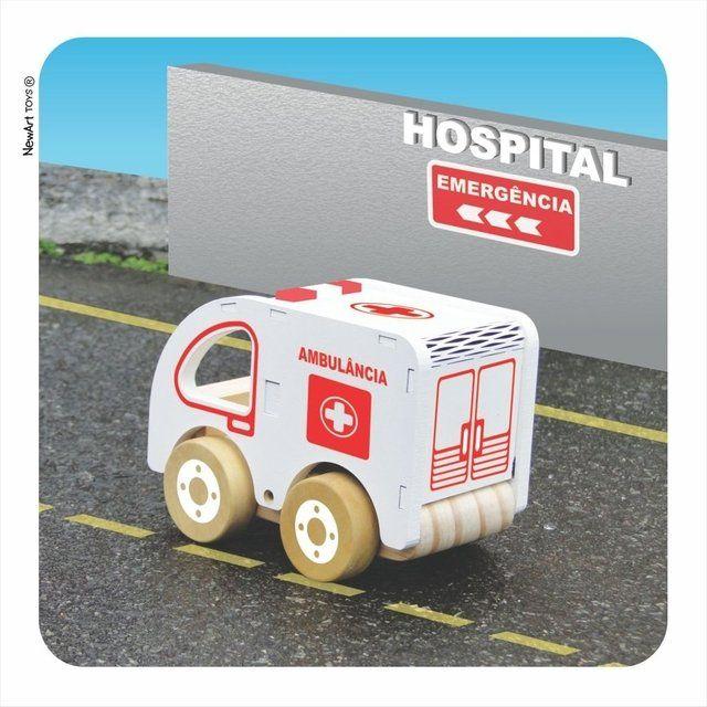 Ambulância - Coleção Carrinhos