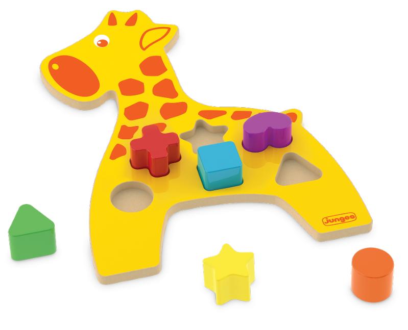 Animais Didáticos Girafa