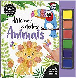 Arte com os Dedos - Animais