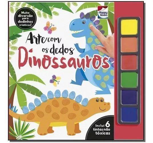 Arte com os Dedos - Dinossauros