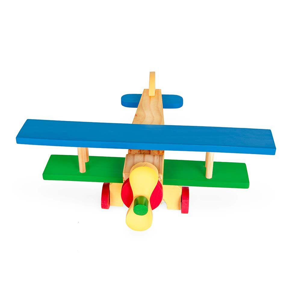 Avião Biplano em Madeira