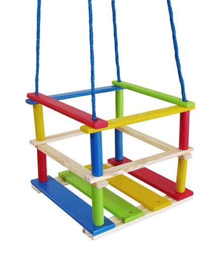 Balanço Com Grades Wood Toys