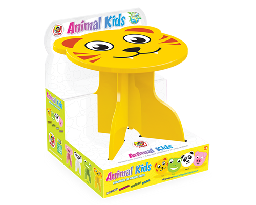 Banquinho Animal Kids - Tigre