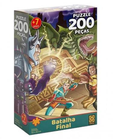 Batalha Final 200 Peças