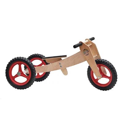 Bicicleta de Equilíbrio 3 em 1 - Vermelha