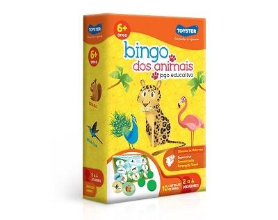 Bingo dos Animais - Jogo Educativo