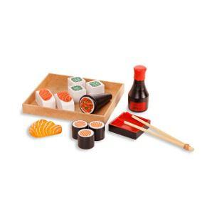 Brincando de Comidinha: Kit Sushi