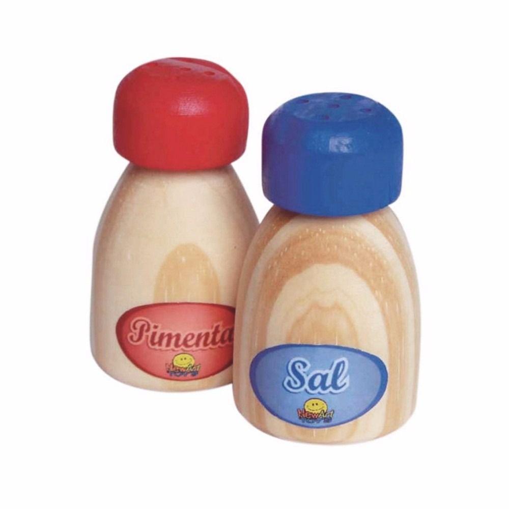 Brincando De Comidinhas Sal e Pimenta